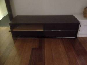 Timber TV cabinet with cd/dvd drawers The Gap Brisbane North West Preview