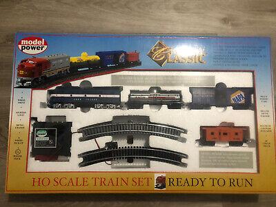 HO TRAINS LONG ISLAND RR AMERICAN CLASSIC TRAIN SET LIRR 1028 B2 Model Power