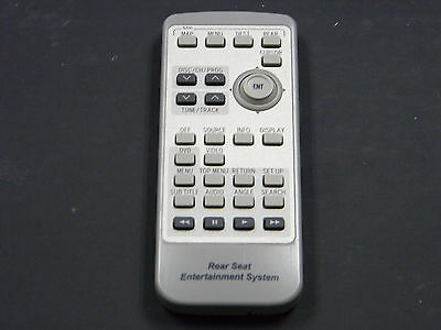 LEXUS LX470 REAR DVD Entertainment Remote Control REAR SEAT OEM 86170-60030