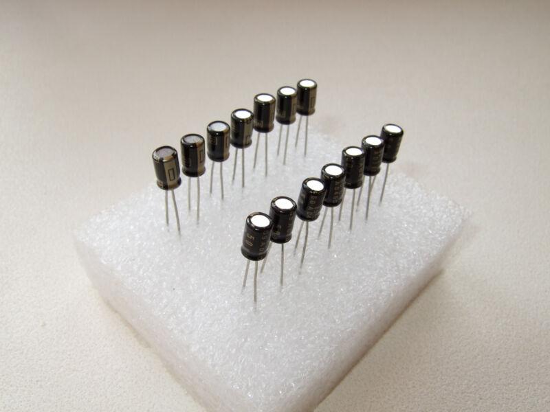 Rubycon BLACK GATE PK capacitors for TDA1541A DEM decoupling (14 pcs set)