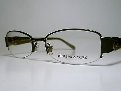 New Ladies JONES NEW YORK J459 Cord Rimless Sun/Eyeglasses Frame Black List $150
