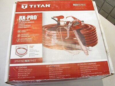 Titan 0538080 Rx-pro Gun Hose And Tip Kit