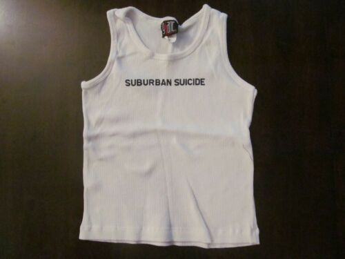 1997 BUSH WHITE GIRLS TANK TOP-NEVER WORN + BACKSTAGE PASS