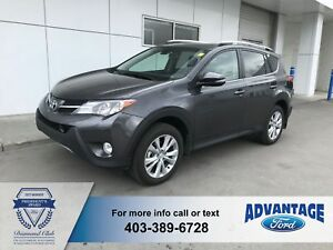2014 Toyota RAV4 Limited Immaculate - Heated Seats