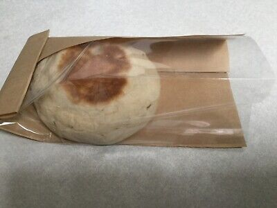 Bagcraft Natural Brown Clear View Bakery Deli Food Bags 4 X 2.5 X 7 1000 Ct