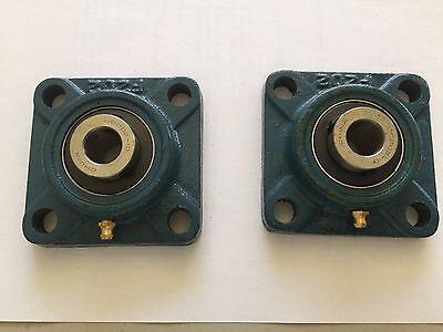 2 Pcs Of 58 Ucf202-10 Pillow Block Bearing
