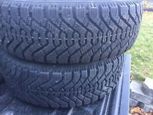 """Good year Nordic winter tires 185 65 r14"""""""