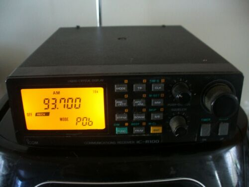 ICOM IC-R100 Receiver radio communications  TESTED. quick priority mail shipping