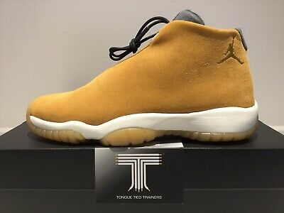 Nike Air Jordan Future ~ Wheat Brown Leather ~ BQ5773 700 ~ Youth Uk Size 4.5