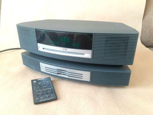 "Bose Wave Music System w Multi-CD Changer Blk w Remote ""MINT"""