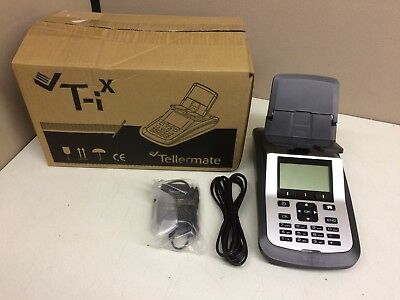 New Tellermate T-ix 4500 Currency Counter Scale Money Counting Machine Pls Read