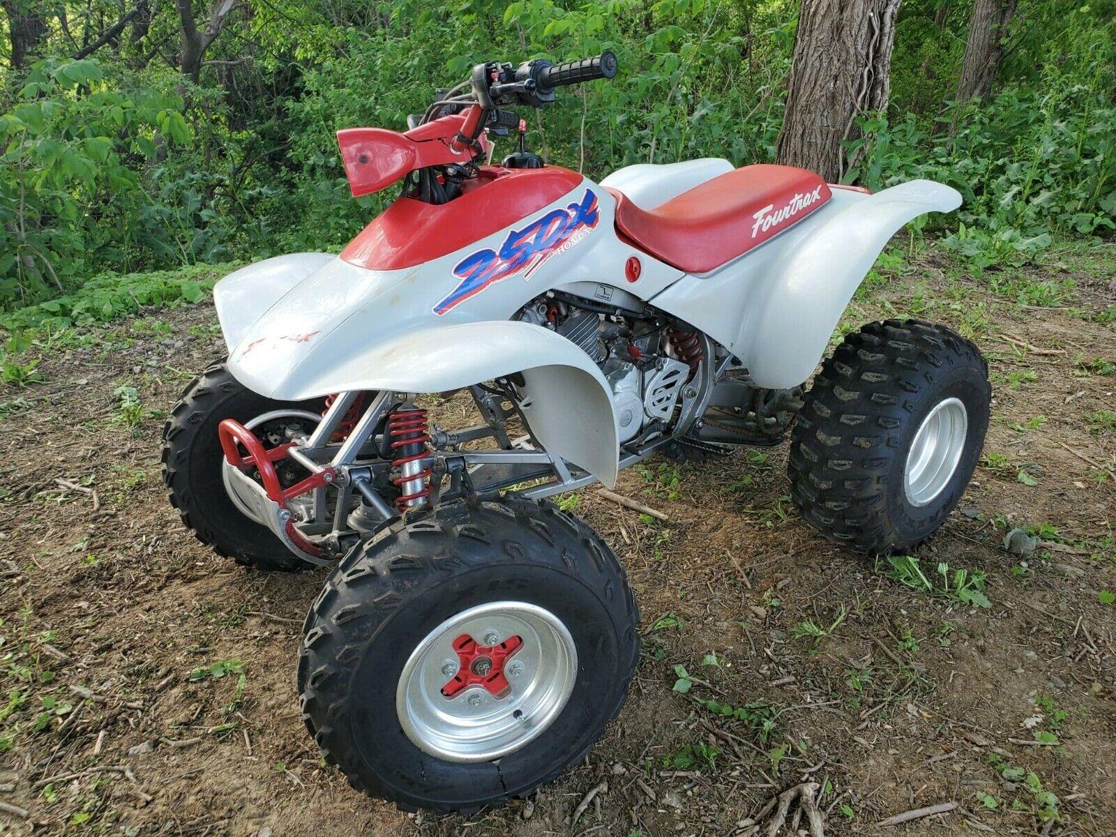 1987 HONDA TRX 250X - 4 WHEEL ATV - EXTREMELY ORIGINAL - MINT - RARE !