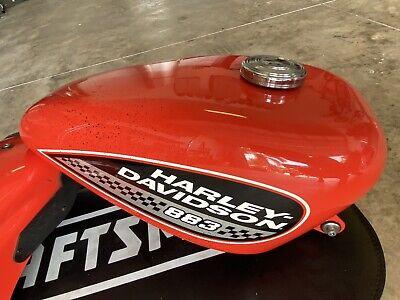 Harley-Davidson Sportster 883R Gas Tank & Fender   Racing Orange
