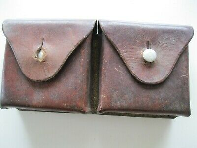 Original Swiss Leather Double Pouch