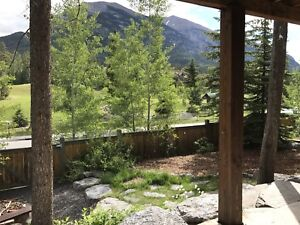 Fantastic Furnished 1-Bedroom Walkout Suite in Canmore Dec 1