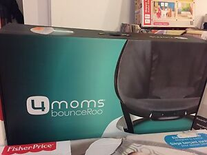 4moms bounceroo, fisher price swing, fisher price seat