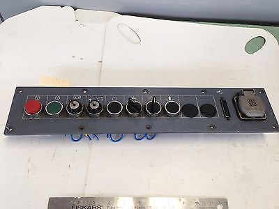 Used Gildemeister Cnc Lathe Operator Interface Panel Hts 16a-250v  Fj