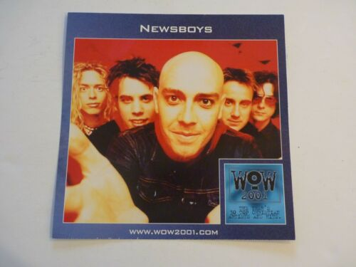 Newsboys 2001 LP Record Photo Flat 12x12 Poster