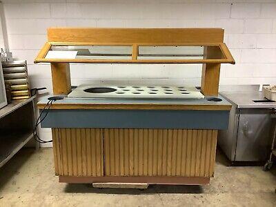 73 Custom Salad Bar Buffet Server 115 Volts 1 Phase Tested