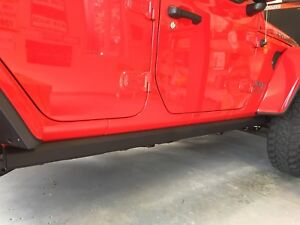 Jeep JL Rubicon OEM Rock Rails