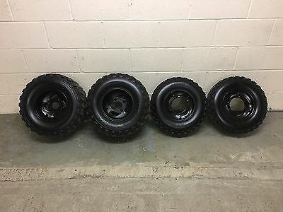 Quadzilla SMC Ram Apache 200 250 300 320 500cc Genuine Alloy Wheels With Tyres!