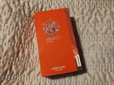 Motorola Moto Z Force 2nd Generation - 64 GB - T-Mobile. Still NEW. Extras.