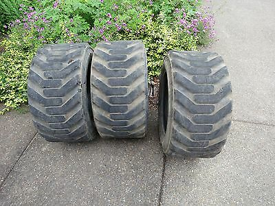 Used Bobcat Skid Steer Wheel Loader 10 Ply Gallaxy 31.5 X 13.0 X 16.5 Super Wide