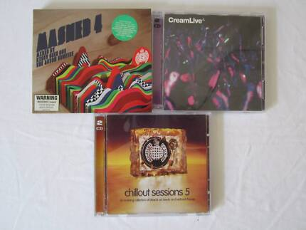 Dance and chillout CD's, $3 each