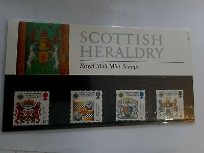 Scottish Heraldry Presentation Pack 1987  #182