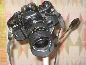 Canon AE1 camera with accessories. Hornsby Hornsby Area Preview