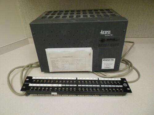 Inter-Tel Axxess 64 Phone System with (6) Cards