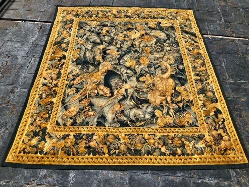 Tapestry 19th century Aubusson goblin wall hanging 1800