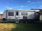 21 ft New age big red caravan triple bunk South Bowenfels Lithgow Area Preview