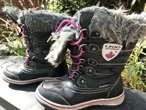 Girls winter boots (waterproof) - size 13