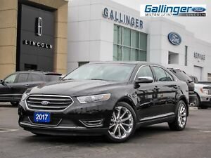 2017 Ford Taurus LIMITED AWD w/MOONROOF, NAV, AND POLISHED 20 IN