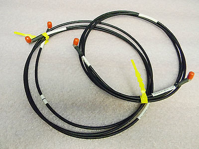 2 7-foot Sma Antenna True Time Microwave Lmr-195 Low Loss Ultraflex Cables