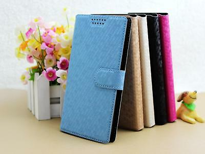 For Zte Turkcell T60 Suture Diamond Vein Pu Leather Flip Wallet Case Cover