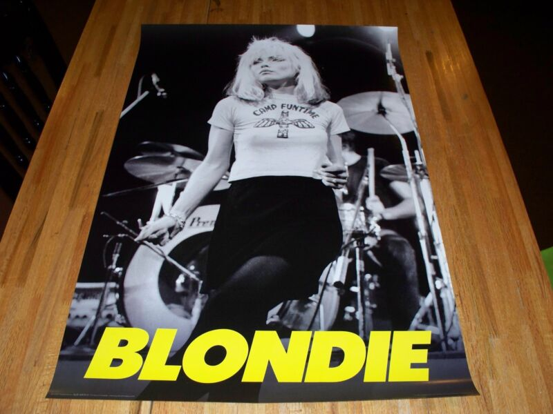 Blondie Poster 24 X 36 Out of Print Punk Rock Debbie Harry Hot !!!