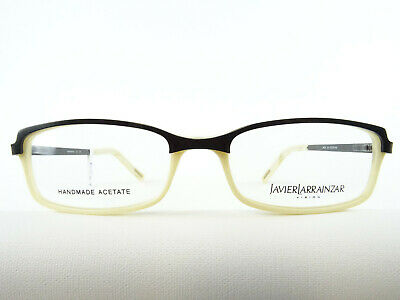 Cremeweiße-schwarze Women's Glasses Brands Glasses for Delicate Faces Size M