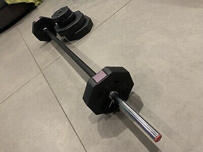 Women's Health Barbell Set - 20kg (Perfect for Les Mills Body Pump)