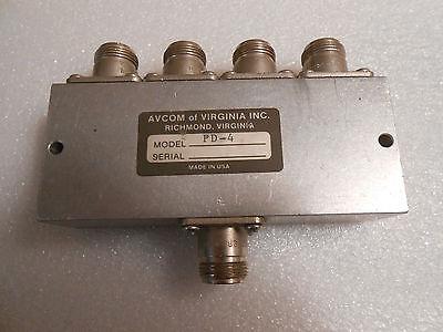 Avcom Of Virginia Dcp-4 Power Splittrer Combiner Vsat Satellite