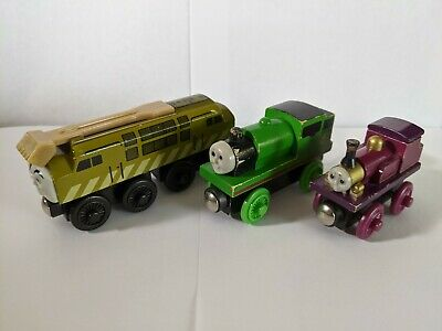 Thomas & Friends set of 3 Engines: Lady, Diesel 10, and Percy - Brio Compatible