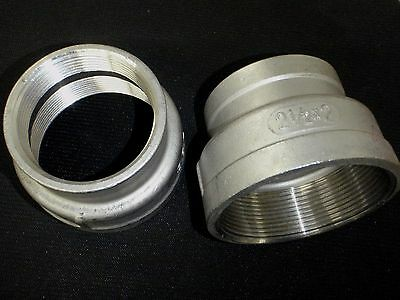 Stainless Steel Reducer Coupling 2 12 X 2 Bspt Pipe Rc-250-200-bsp