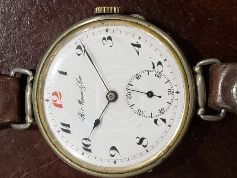 H.Moser&Cie vintage watch from war war 2