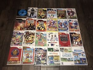 Nintendo Wii System Console Games Remote Accessories