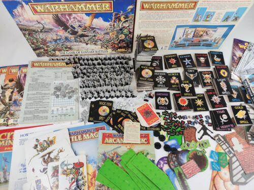 The Game of Fantasy Battles 4th edition Huge Bundle MAGIC BATTLE ARCANE [1992]