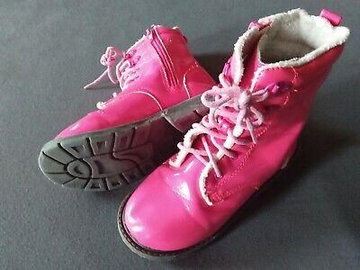 H&M Mädchen Stiefel 29 neon pink Combat Boots - Combat Boots Kinder