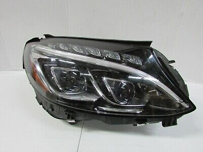 2015-2017 MERCEDES C CLASS C300 C350 C400 C63 OEM RIGHT LED ACTIVE HEADLIGHT T4