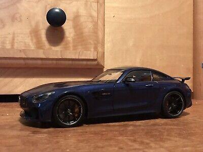 AUTOart Mercedes-Benz AMG GT R Diecast Model Car - Brilliant Blue Metallic