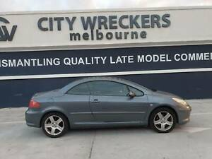 Peugeot 307 CC wrecking,  2006 1.6L petrol , parts and panel for sell West Footscray Maribyrnong Area Preview